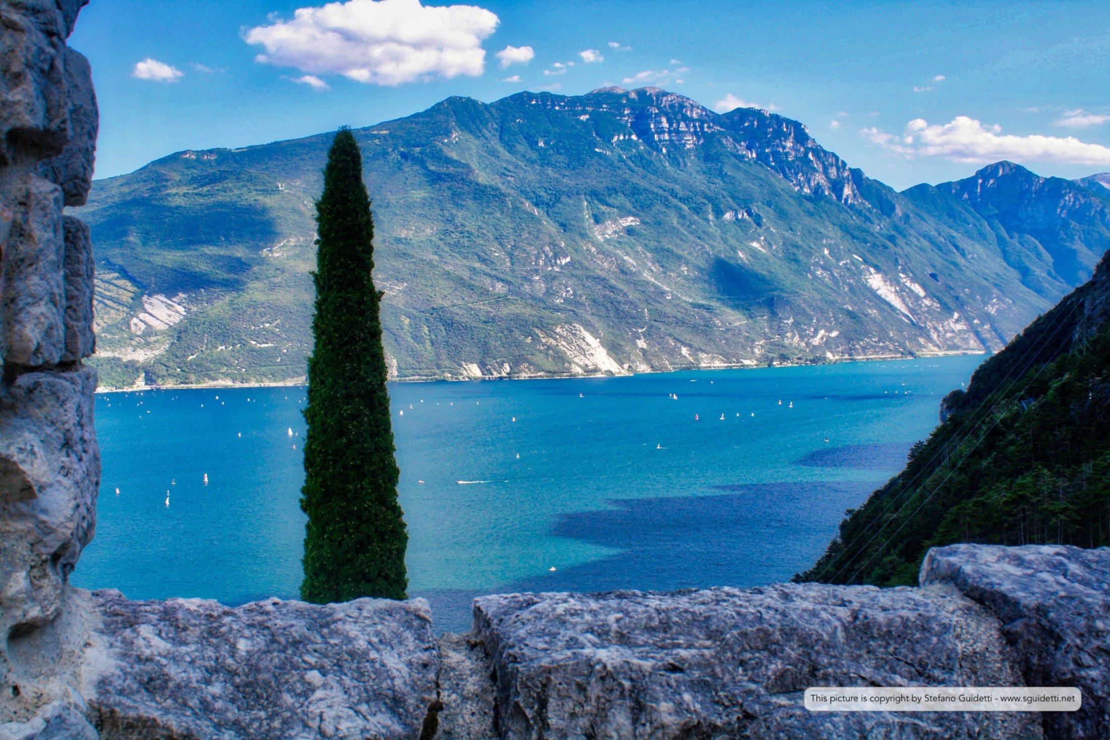 Panorama dalla cima del Bastione