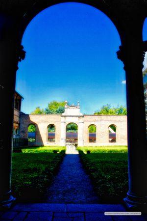 Cortile Palazzo dei Diamanti